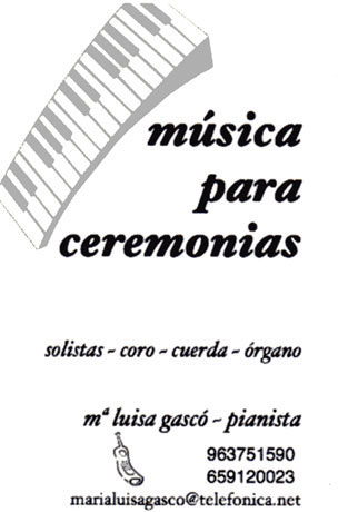 Música para ceremonias Mª Luisa