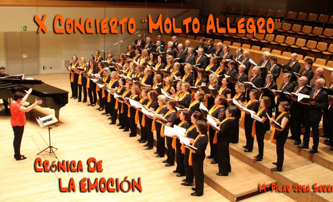 CRONICA OFICIAL DEL X CONCIERTO MOLTO ALLEGRO