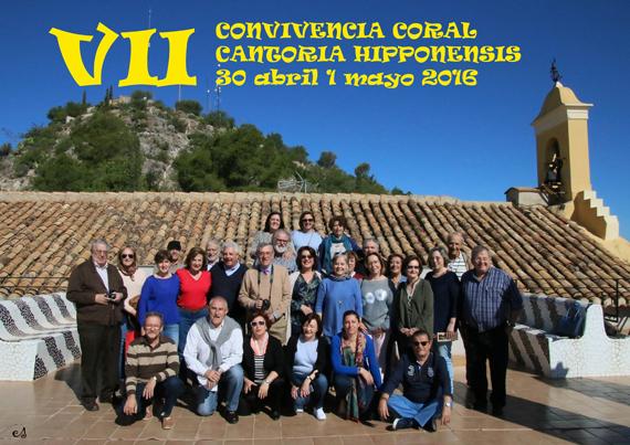 CRÓNICA DE LA VII CONVIVENCIA CORAL. CANTORIA HIPPONENSIS