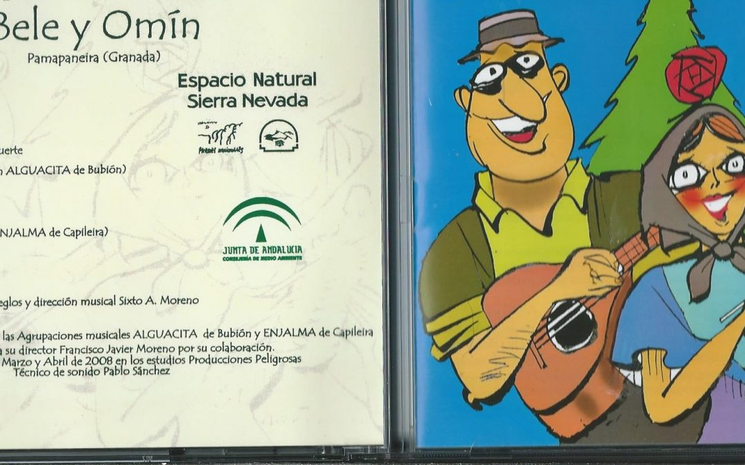 CRÍTICA DISCOGRAFICA MENSUAL : AGRUPACIÓN MUSICAL BELE y OMIN MUSICA TRADICIONAL DE LA ALPUJARRA