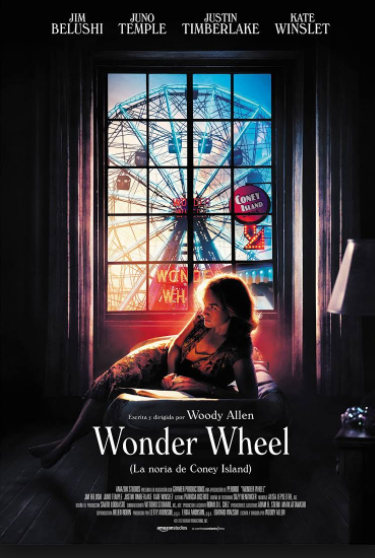 RESEÑA CINEMATOGRÁFICA. WONDER WHEEL.