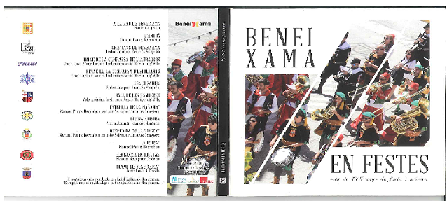 CRÍTICA DISCOGRÁFICA: Beneixama en Festes. Més de 175 anys de festa y música