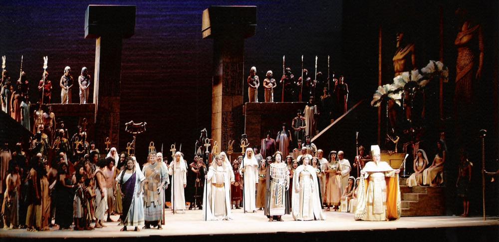 ARGUMENTOS OPERA (Nº1): AIDA de Giuseppe Verdi