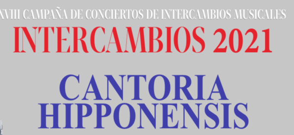 XXVIII campaña de Conciertos de Intercambios Musicales. Cantoria Hipponensis